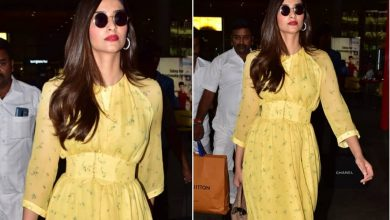 Photo of Sonam Kapoor Ahuja is looking Stunning in her Yellow Dress