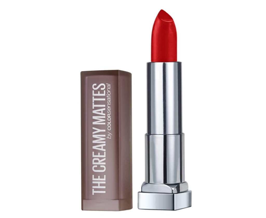 Maybelline New York Color Sensational Creamy Matte Lipstick, Red Liberation