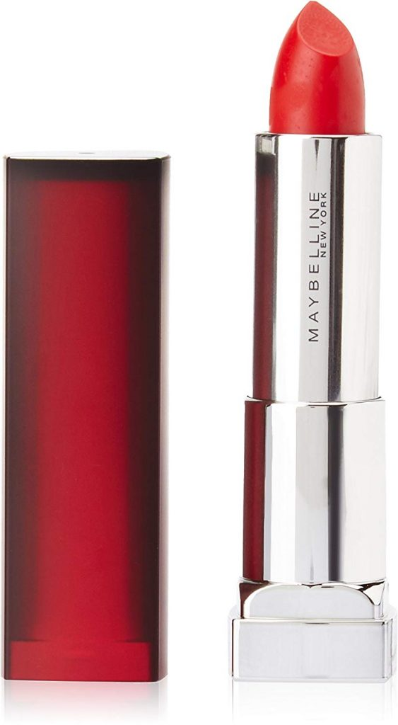 Maybelline New York Color Sensational Powder Matte Lipstick, Get Red-dy