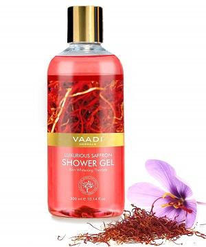 Vaadi Herbals Shower Gel, Luxurious Saffro