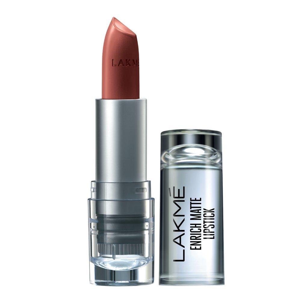 Lakme Enrich Matte Lipstick, Shade BM11