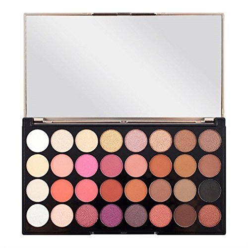 Makeup Revolution London Ultra Eyeshadow Palette, Multi-Color