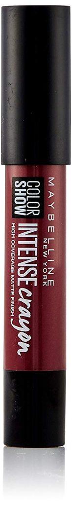 Maybelline New York Color Show Intense Lip Crayon, Dark Chocolate