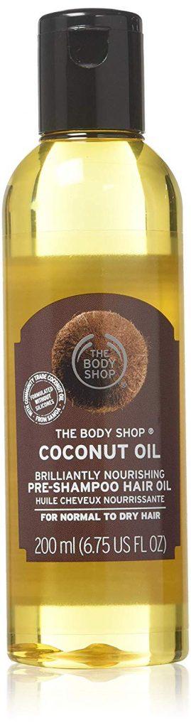 The Body Shop hair oil