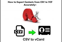 Photo of How to Export CSV to VCF with Exact Details?