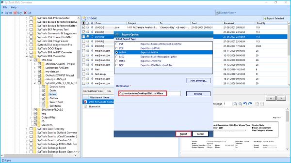 import windows live mail to thunderbird
