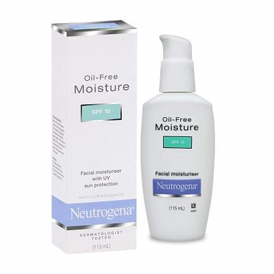 Neutrogena Oil Free Facial Moisturiser, SPF 15