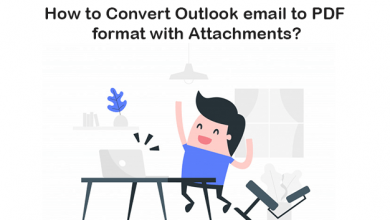 Photo of Know How to Convert Outlook email to PDF with Attachments