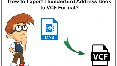 Photo of How to Export Thunderbird Address Book to vCard?
