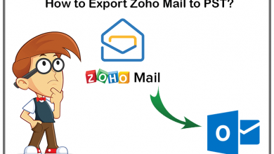 Photo of How to Export Zoho Mail to PST with Attachments?
