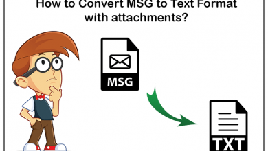Photo of How to Convert MSG to TXT without Outlook?