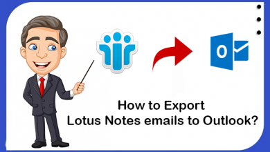 Photo of How to Export Lotus Notes email to Outlook in Easy Steps?