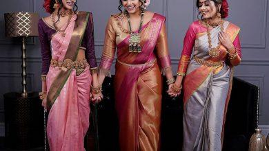 Photo of Style These 7 Kanjeevaram Sarees This Karwa Chauth